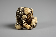 Netsuke of a Karashishi