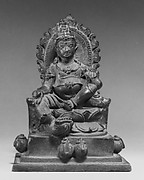 Seated Two-Armed Jambhala, the Buddhist God of Wealth