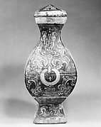 Squared Jar with Cover (Fanghu)