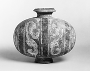 Cocoon-Shaped Jar