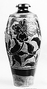 Bottle with Floral Decoration