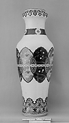 Large Vase with Butterflies,Origami Cranes, Plovers over Waves, Auspicious Symbols, and Geometric Patterns (one of a pair)