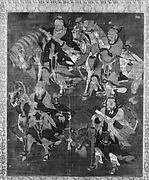 Four Deities with Horses
