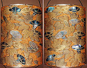Case (Inrō) with Design of Flowering Morning Glory