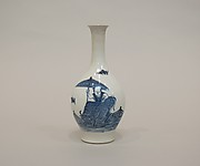 Bottle with Child Riding an Ox