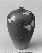 Vase with Butterflies