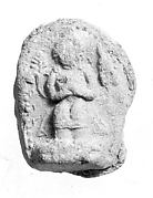 Votive Plaque with Maitreya(?)