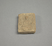 Votive Plaque with Seated Buddhas