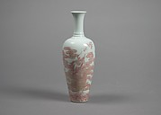 Vase with Dragon amid Clouds