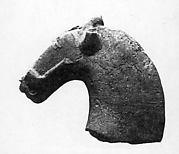 Fragment of a Horse's Head