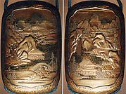 Case (Inrō) with Design of Chinese-Style Landscape