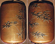 Case (Inrō) with Design of Bamboo
