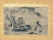 Daruma (Ta Mo) and Disciple under Pine Tree