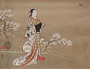 Parody of Murasaki, from