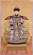 Portrait of a Qianlong Empress