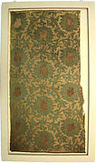 Textile with Floral Scroll