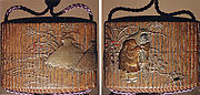 Case (Inrō) with a Fox from the Kyōgen Play