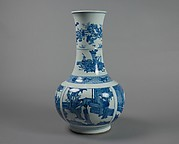 Vase with Scenes from Romance of the West Chamber