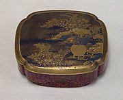 Incense Box with Autumn Grasses and Insect Cage