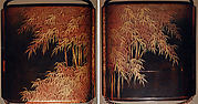 Case (Inrō) with Design of  Bamboo Forest in Mist