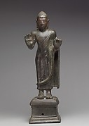 Standing Buddha, probably Shakyamuni