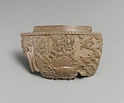 The Moon God Chandra(?) in His Chariot with Wife and Attendant