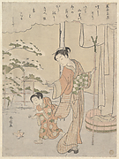 Poem by Fujiwara no Motozane (ca. 860) from the Series Thirty-Six Poets