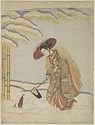 Meng Zong, from the series Twenty-four Paragons of Filial Piety