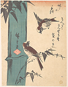 Bamboo and Sparrows