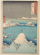 Winter View of Shimasaku in the Province of Iki
