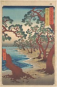 Maiko Beach, Harima Province, from the series Views of Famous Places in the Sixty-Odd Provinces
