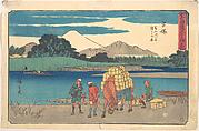 Hiratsuka; Banyugawa Funa Watashi no Zu