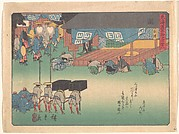 Seki, from the series The Fifty-three Stations of the Tōkaidō Road