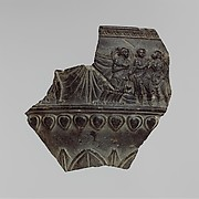 Fragment of a Vessel with a Dionysian Scene