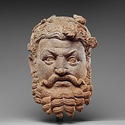 Head of Dionysos (The God of Wine and Divine Intoxication)