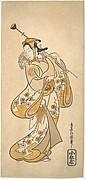 Ichikawa Monnosuke as a Sarumawashi or Monkey Showman