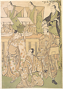 Ichikawa Danjuro Fifth as Kyo no Jiro in Disguise as Dekuroku byoe the Stree Puppet-showman