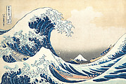 Under the Wave off Kanagawa (Kanagawa oki nami ura), also known as the Great Wave, from the series Thirty-six Views of Mount Fuji (Fugaku sanjūrokkei)
