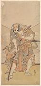 Bando Mitsugoro I in the Role of Asahina no Saburo, Drama