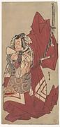 Ichikawa Danjūrō V in a Shibaraku Role as Hannya no Gorō