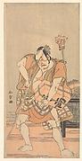 The Actor 2nd Nakamura Sukegoro as a Robber