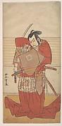 The Actor Ishikawa Danjuro V Performing a Shibaroku Act with a Drawn Sword in His Hand