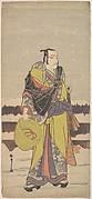 Danjurō V as Kakogawa Honzō with a Komuso Hat and a Flageolet