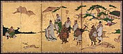 Meeting between Emperor Wen and Fisherman L Shang
