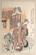 Young Women Visiting a Shinto Shrine