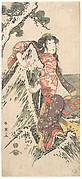 Kabuki Actor Segawa Kikunojō III in a Female Role