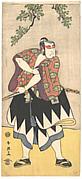 The Second Ichikawa Monnosuke as a Man Dressed in a Kimono