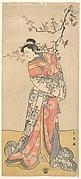 Ichikawa Eibizo (Former Name: Danjuro V) in the Role of Iwafuji