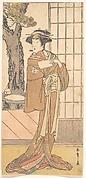 The Actor Segawa Kikunojo Third as an Oiran
