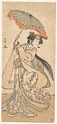 The Third Segawa Kikunojo as a Woman Dancing in a Shosa Act